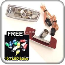 Universal Side Marker Lights Crystal Clear Signal Turn Cor