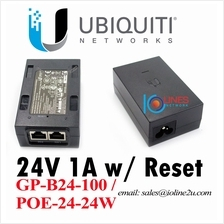 Ubiquiti UBNT Network 24V 1A POE-24-24W adapter injector GP-B24-100 AP Remote