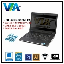 Refurb Dell Latitude E6440 Core i5/4Gb/500Gb/Win10/14''/Webcam