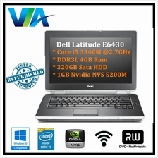 Refurb Dell Latitude E6430 Core i5/4Gb/320Gb/Win10/14''/Webcam