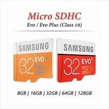 Samsung Micro SD HC Evo/Plus Memory Card CL10 16GB 32GB 64GB 128GB