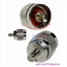 R-SMA / RP-SMA female to N Male Connector converter  adapter