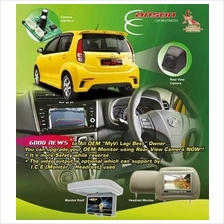 PERODUA MYVI Lagi Best OEM Player Interface Upgrade with Rear Camera