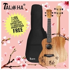 Taloha T-Flora Concert 23-inch Ukulele with bag+capo+ 2 picks and book