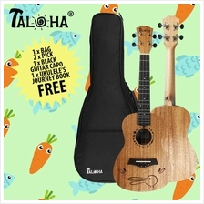 Taloha T-Dura Concert 23-inch Ukulele with bag+capo+ 2 picks and book
