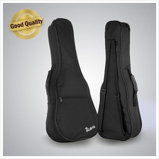 Ukulele Sponge Padded Bag (Black)