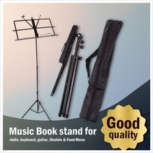 Music Book Stand for Violin, Keyboard, Guitar, Ukulele & Food Menu
