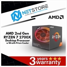 AMD 2nd Generation Ryzen 7 2700x Processor with Wraith Prism Cooler