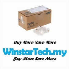 AMP RJ45 CAT5E CAT6 Modular Plug Network Lan Connector 100pcs 1Box