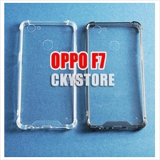 OPPO A3S F9 F7 Youth ANTIDROP FULL Hard Transparent Case