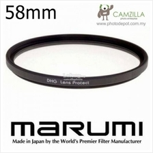 MARUMI DHG LENS PROTECT FILTER 58mm