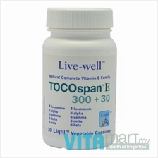 Live-well TOCOspan E300+30 (30's capsules)
