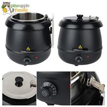 Commercial Electric Soup Kettle Warmer 10 Liter