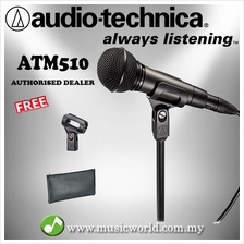 Audio Technica ATM510 Cardioid Dynamic Handheld Microphone (ATM 510)