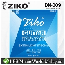 Ziko String DN009 Electric Guitar String Set Nickel Wound Extra Light