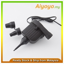 30% More Power Electric Air Pump 3 Nozzles Swimming Pool Balloon Blowe