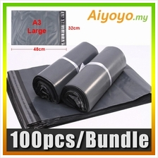 100pcs/pkt L-Size A3 Shipping Courier Flyer Parcel Mailer Post Mailing