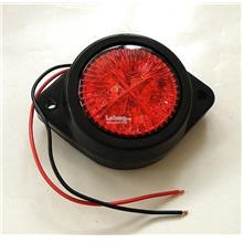 Lorry Truck LED Marker Lamp - 24v Red - 2 Sets