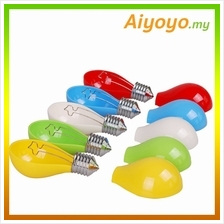 Colourful Bulb Ashtray Creative Fashion Simple Easy Clean Home Office