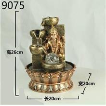 WATER FOUNTAIN GANESHA 9075 WATER FEATURE FENG SHUI HOME DECORATION
