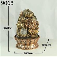 WATER FOUNTAIN GANESHA 9068 WATER FEATURE FENG SHUI HOME DECORATION