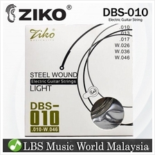 Ziko String DBS010 Electric Guitar String High Carbon Steel 3 time dur