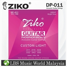 ZIKO STRING DP011 ACOUSTIC GUITAR STRING - PHOSPHOR BRONZE