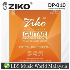 ZIKO STRING DP010 ACOUSTIC GUITAR STRING - PHOSPHOR BRONZE