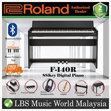 Roland F-140R 88 key Digital Home Piano Bundle Black (F140R F140 F 140