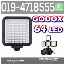 Godox Mini 64 LED Video Light Interview Lamp DSLR Camera DV Lampu