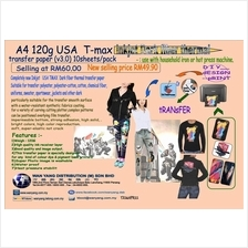 A4 120g USA T max  inkjet Dark fiber thermal transfer paper (v3.0)