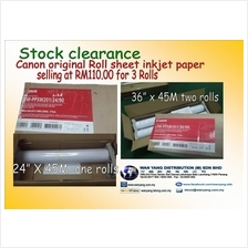 Canon original Roll sheet inkjet paper stock clearance