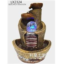 FENG SHUI WATER FOUNTAIN LX2324 TABLE TOP WATER FEATURES DECORATION