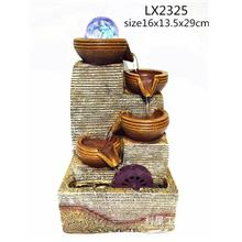 FENG SHUI WATER FOUNTAIN LX2325 TABLE TOP WATER FEATURES DECORATION