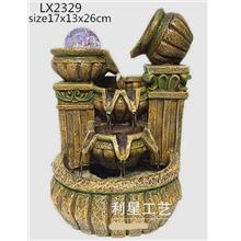 FENG SHUI WATER FOUNTAIN LX2329 TABLE TOP WATER FEATURES DECORATION