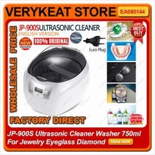 JP-900S Ultrasonic Cleaner Washer 750ml For Jewelry Eyeglass Diamond