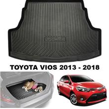 TOYOTA VIOS 2013-2018 ORIGINAL ABS Anti Non Slip Rear Trunk Cargo Tray