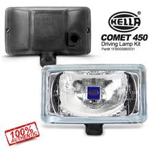 HELLA COMET 450 Spot Light with H3 Halogen Bulb (White) [1 Pair]