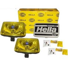 HELLA COMET 450 Spot Light with H3 Halogen Bulb (Yellow) [1 Pair]