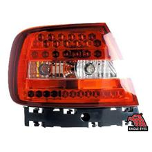 AUDI A4 B5 94-03 EAGLE EYES RED/CLEAR LED Tail Lamp [TL-075]