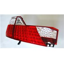 TOYOTA ALPHARD '06-07 RED/CLEAR LENS LED Tail Lamp [TL-128]