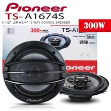 ORIGINAL PIONEER TS-A1674S 6.5' 3-Way 300W Coaxial Speaker