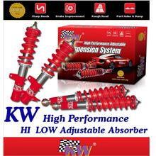 KW GERMANY Hi-Low Adjustable Absorber: TOYOTA AE100/ AE111