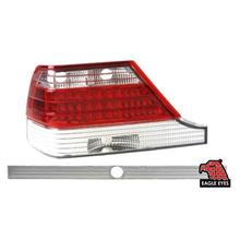 EAGLE EYES MERCEDES S-CLASS W140 '94-'98 CLEAR/RED LED TAIL LAMP