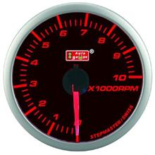 AUTOGAUGE 60mm Super Amber and White RPM Tachometer  [304]
