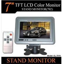 7' TFT Stand/ HeadRest/Dashboard Monitor Connect to DVD/GPS [CL-7019]