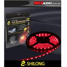 SHILONG 5 Meter 0.6W Super Bright 5050 Big LED Red Stripe Light