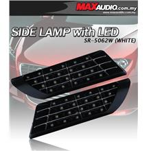 BMW M3 M5 M6 Design Super White LED Side Lamp Fender Grill [SR-5062W]