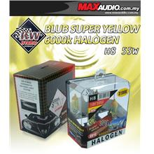 KW HYBIRD 3100K H8 35W Rally Yellow Halogen Bulb Made In Germany