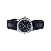 Casio Ladies Analog Leather Date Watch LTP-V002L-1BUDF